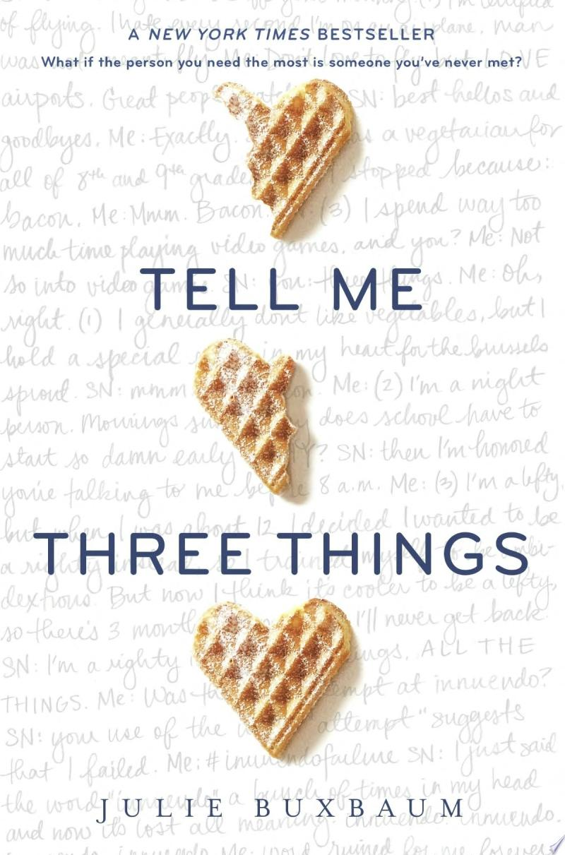 Tell Me Three Things banner backdrop