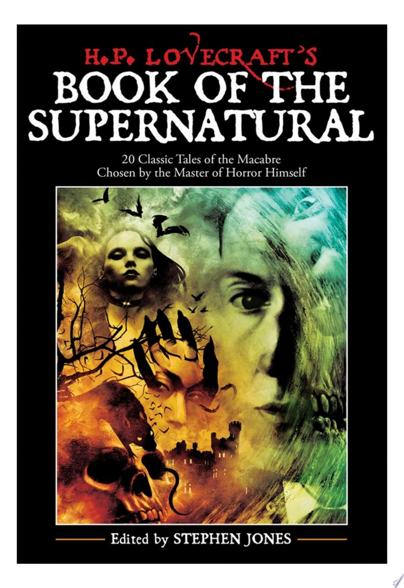 H. P. Lovecraft's Book of the Supernatural: 20 Classic Tales of the Macabre, Chosen by the Master of Horror Himself banner backdrop