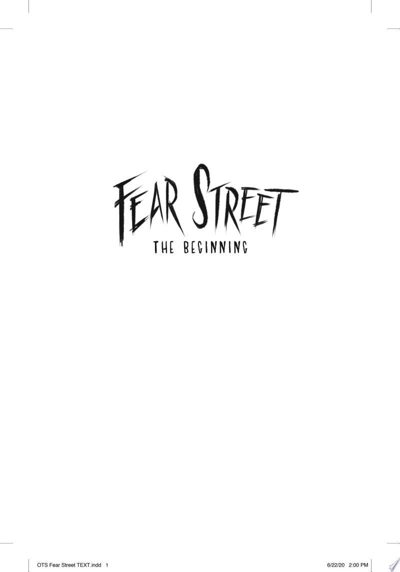 Fear Street The Beginning banner backdrop