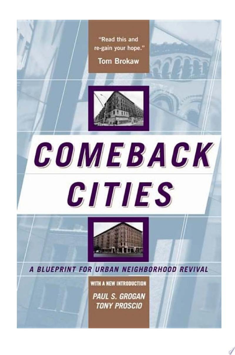 Comeback Cities banner backdrop