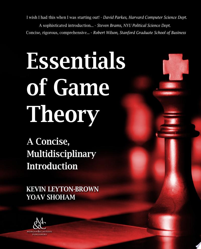 Essentials of Game Theory banner backdrop