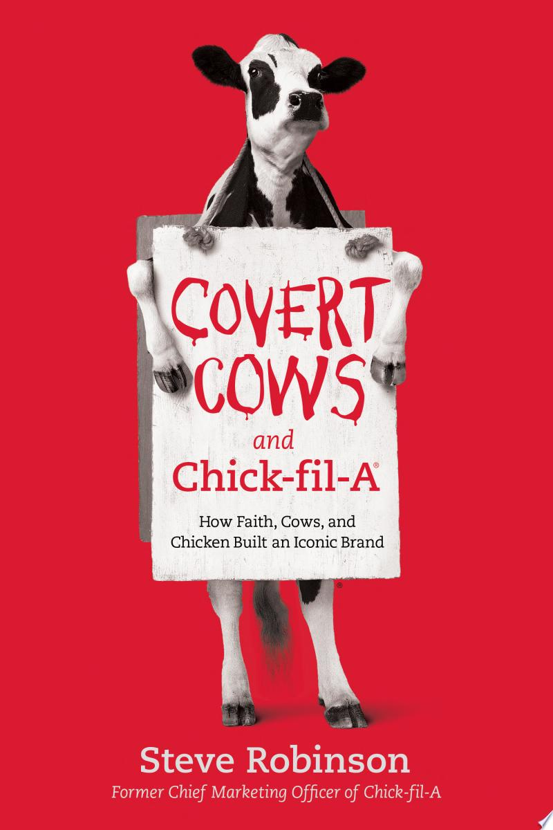 Covert Cows and Chick-fil-A banner backdrop