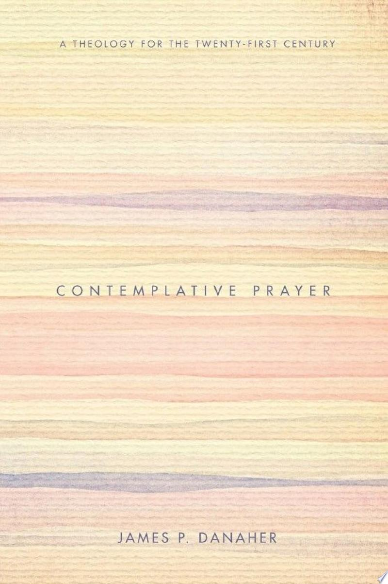 Contemplative Prayer banner backdrop