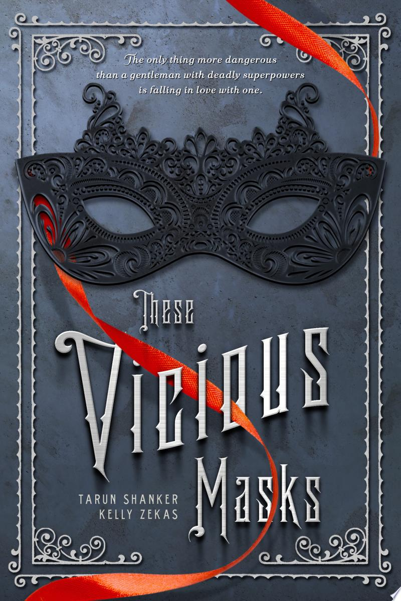 These Vicious Masks banner backdrop