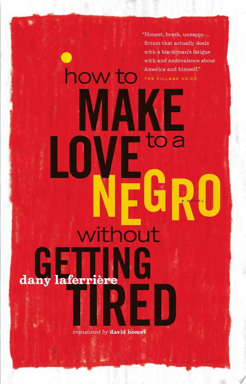 How to Make Love to a Negro Without Getting Tired banner backdrop