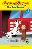 Curious George Fire Dog Rescue banner backdrop