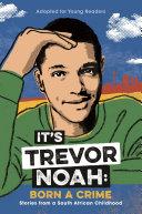 It's Trevor Noah: Born a Crime banner backdrop
