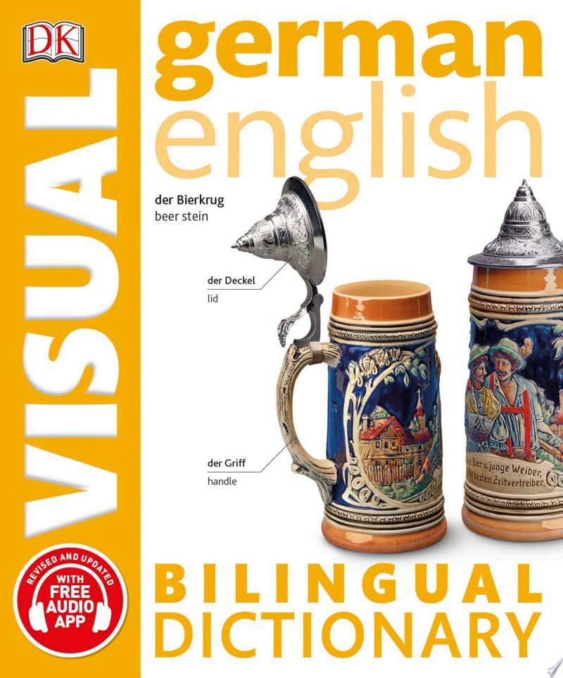 German-English Bilingual Visual Dictionary banner backdrop