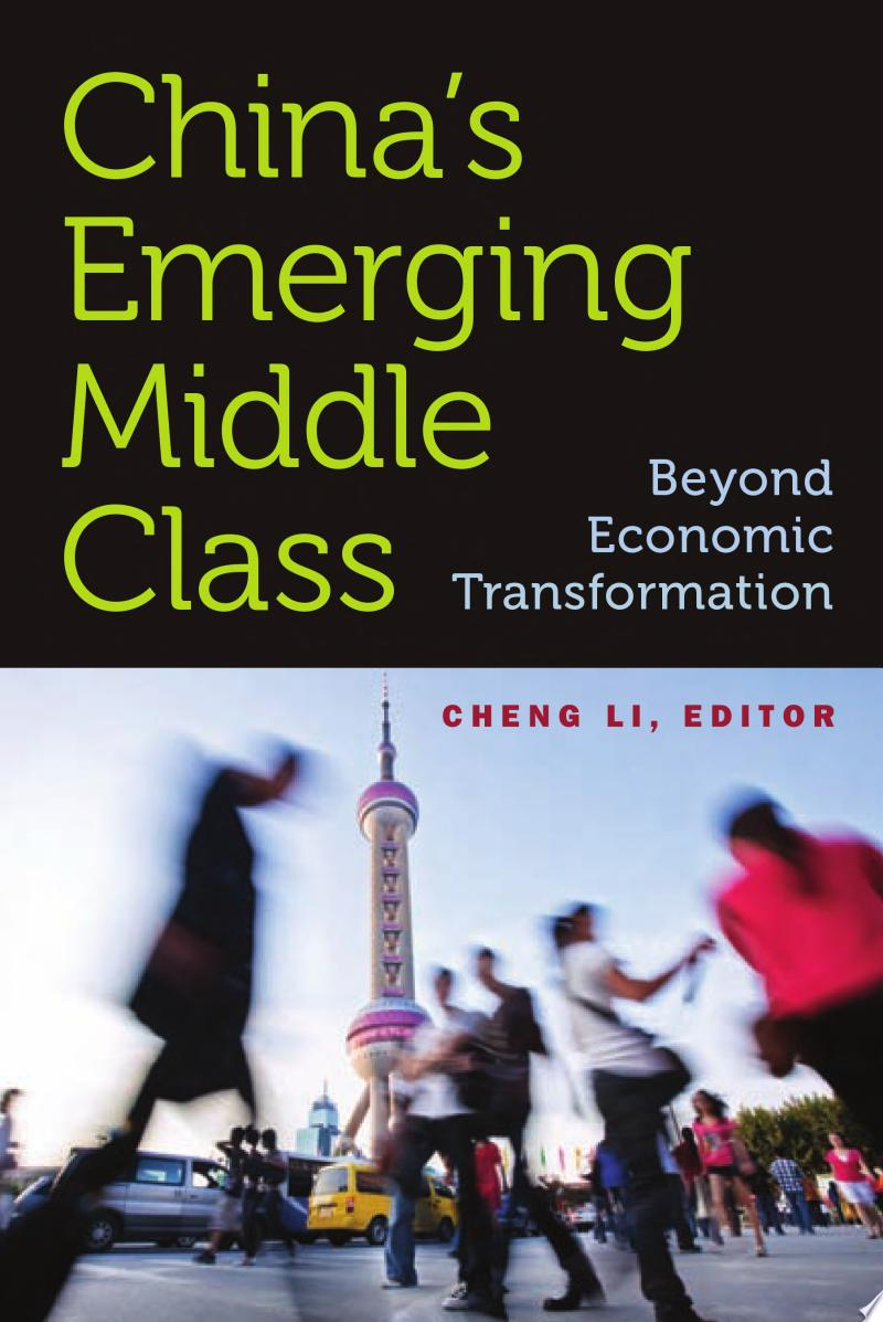 China's Emerging Middle Class banner backdrop