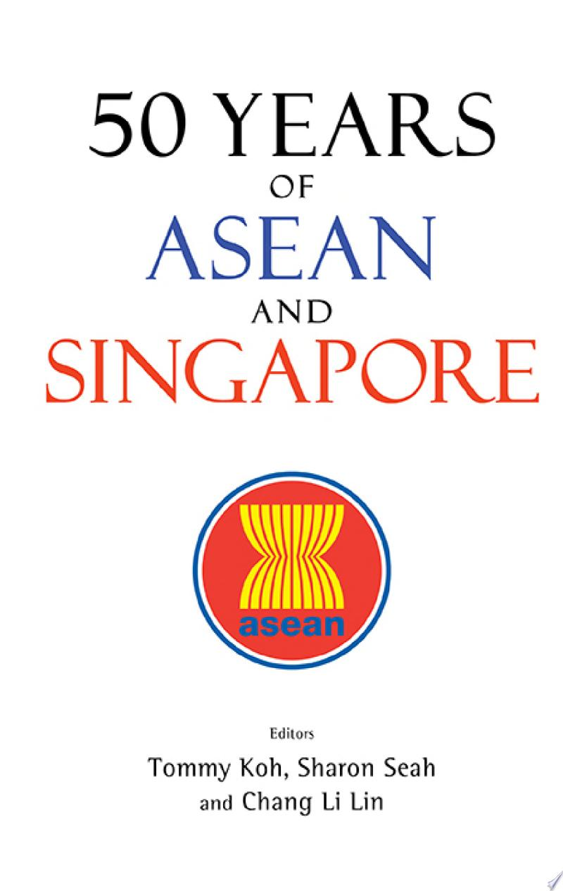 50 Years Of Asean And Singapore banner backdrop