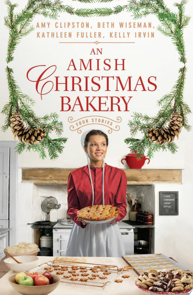 An Amish Christmas Bakery banner backdrop