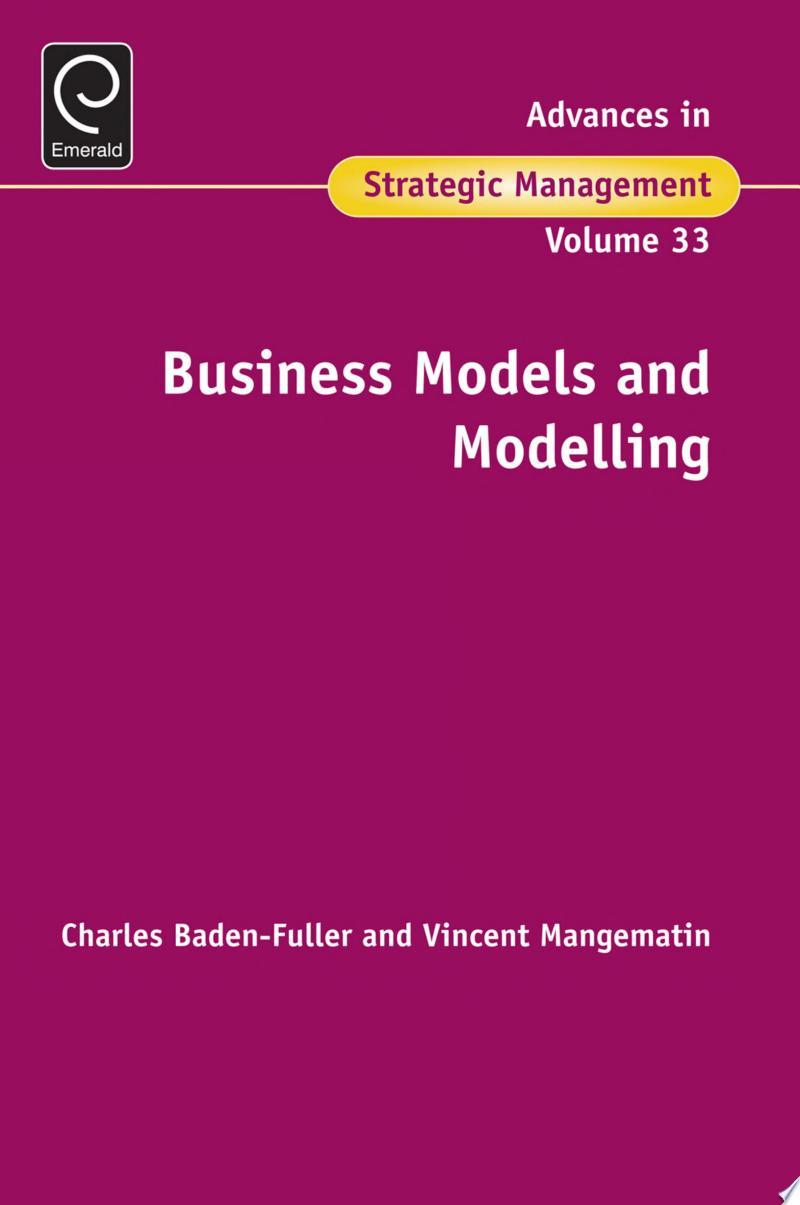 Business Models and Modelling banner backdrop
