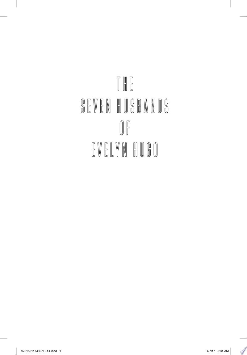 The Seven Husbands of Evelyn Hugo banner backdrop