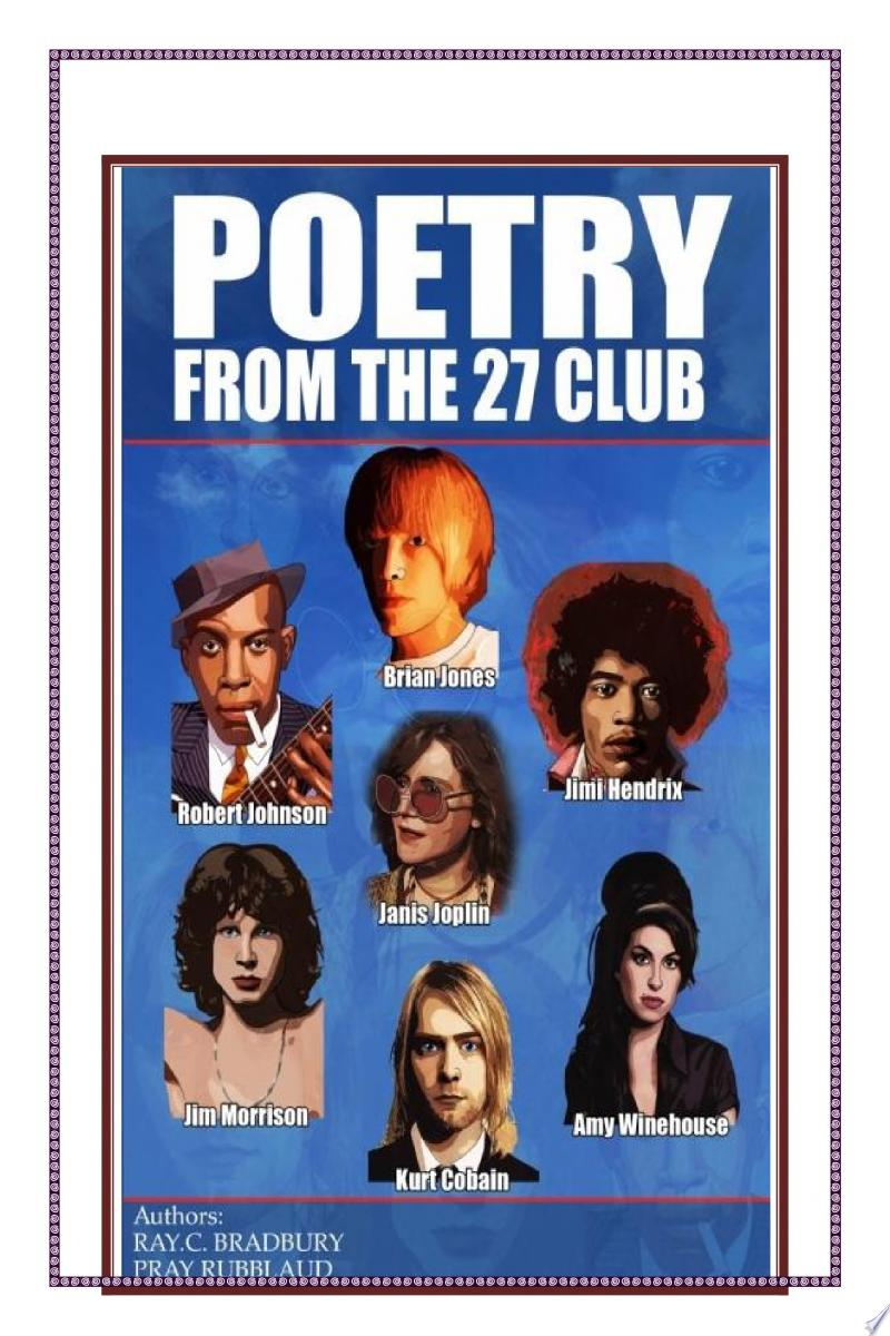 POETRY FROM THE 27 CLUB banner backdrop