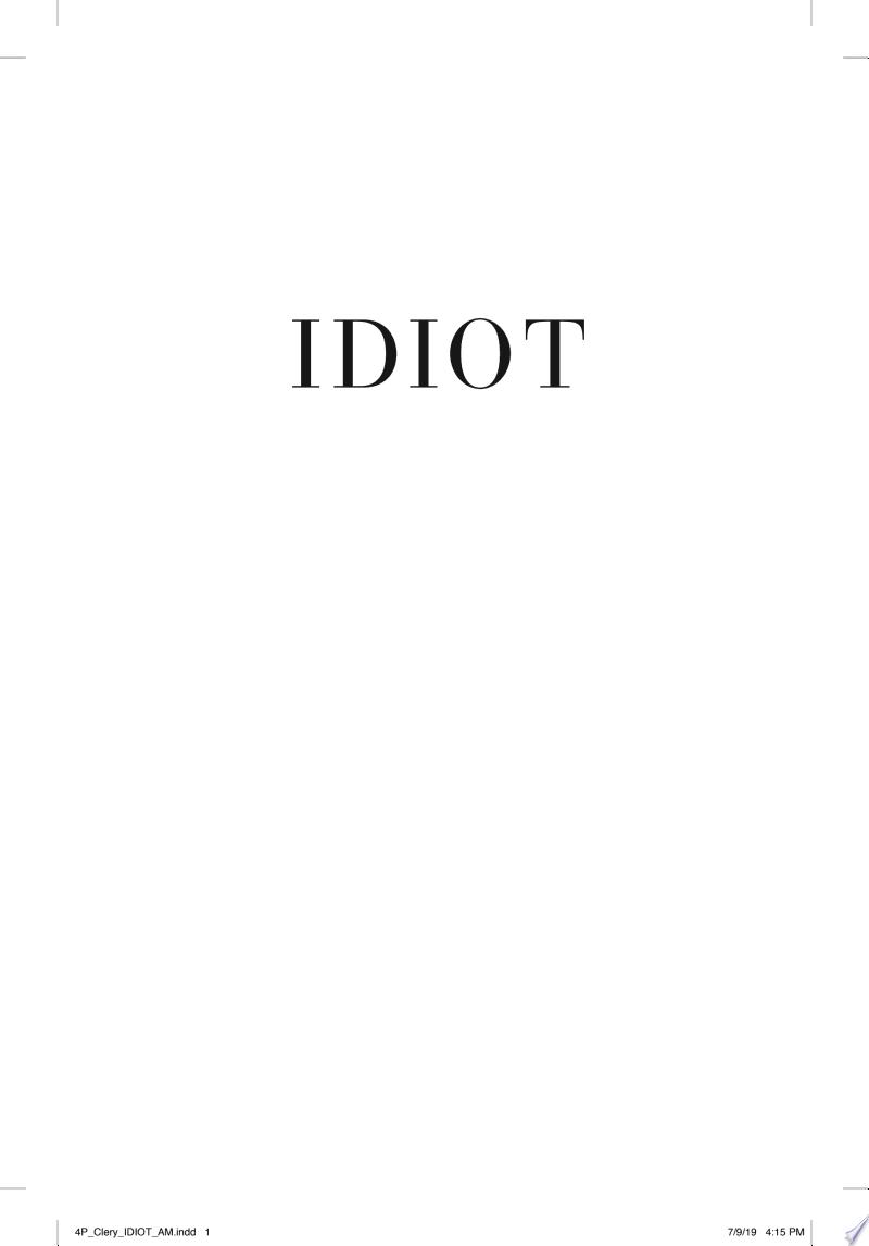 Idiot banner backdrop