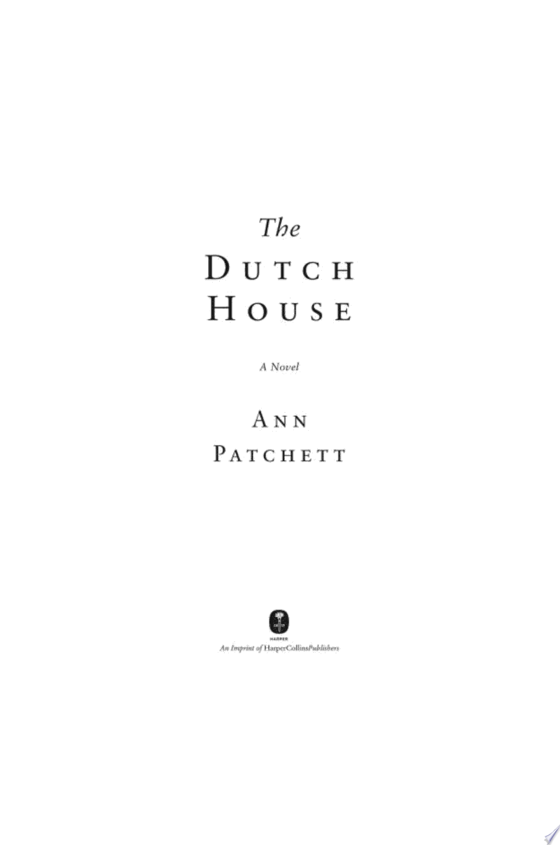 The Dutch House banner backdrop