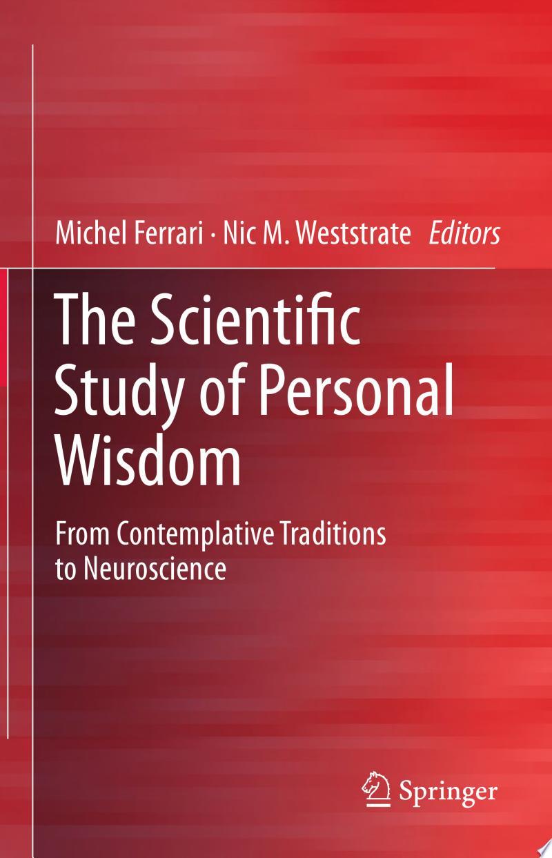 The Scientific Study of Personal Wisdom banner backdrop
