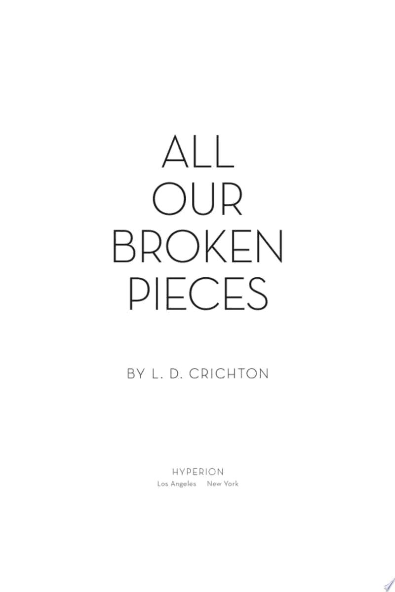 All Our Broken Pieces banner backdrop