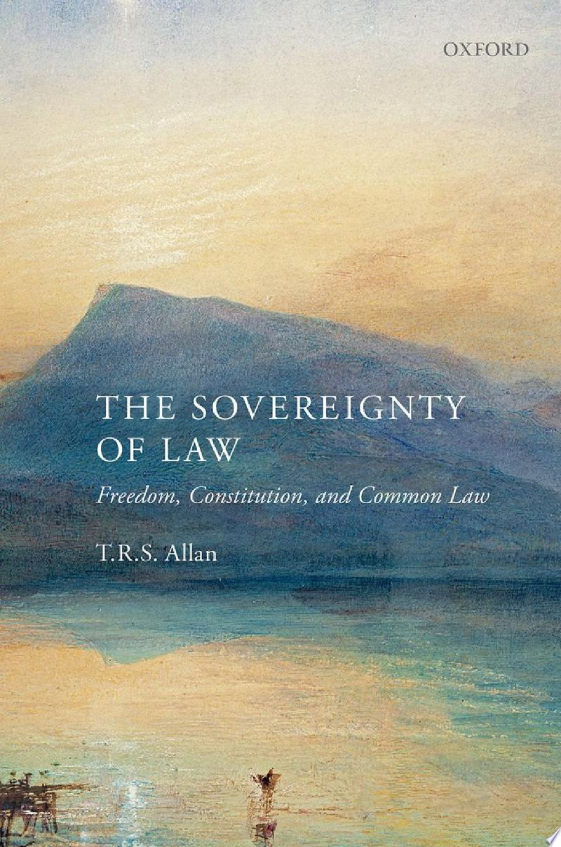 The Sovereignty of Law banner backdrop