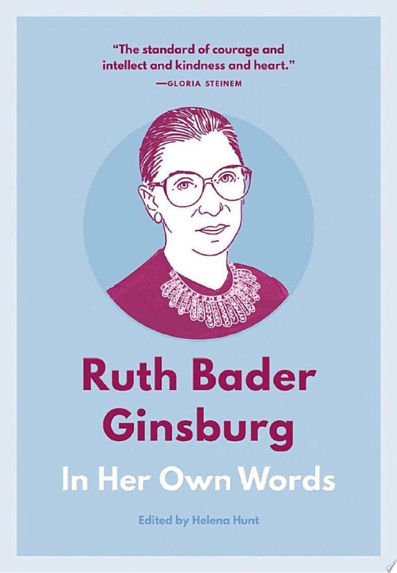 Ruth Bader Ginsburg banner backdrop