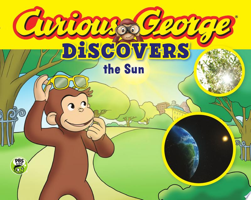 Curious George Discovers the Sun (Science Storybook) banner backdrop