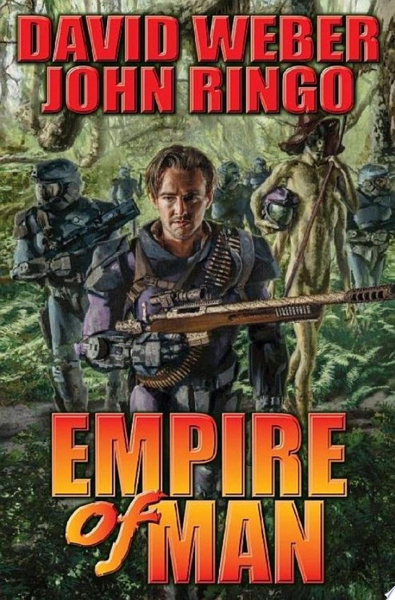 Empire of Man banner backdrop