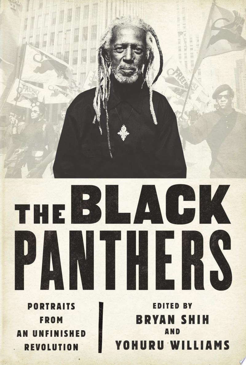 The Black Panthers banner backdrop
