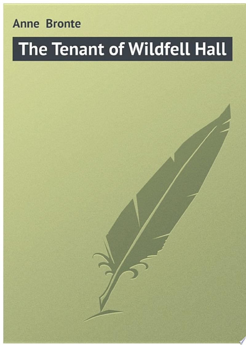 The Tenant of Wildfell Hall banner backdrop