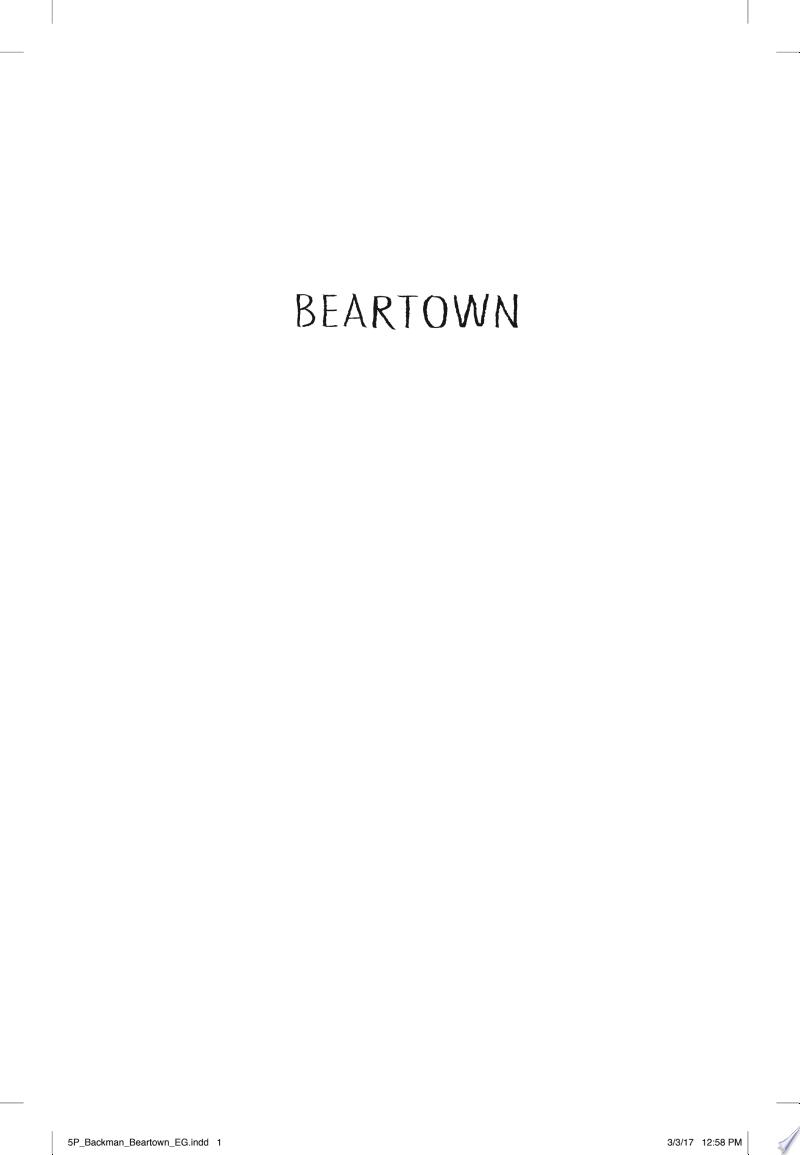 Beartown banner backdrop