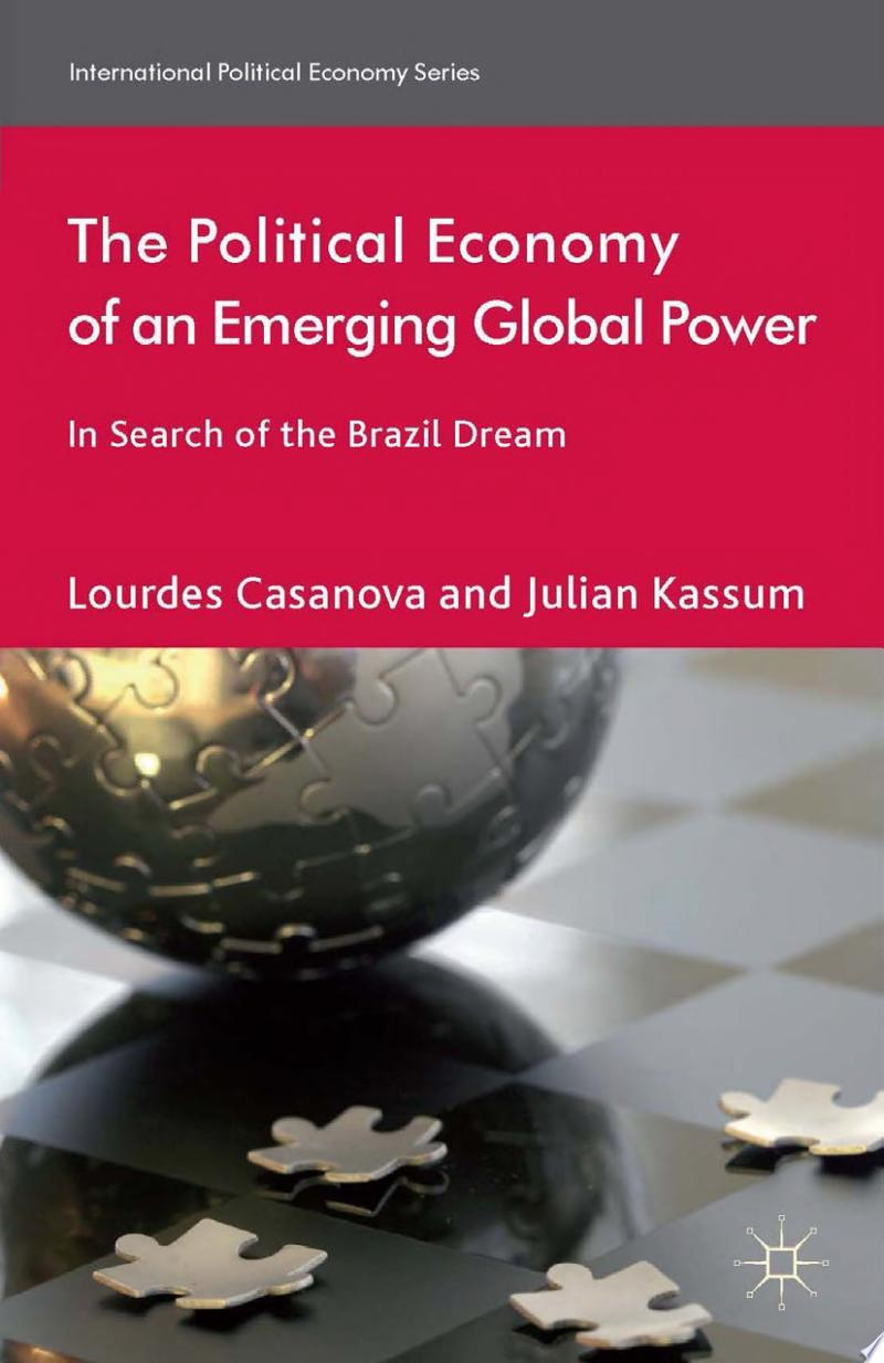 The Political Economy of an Emerging Global Power banner backdrop