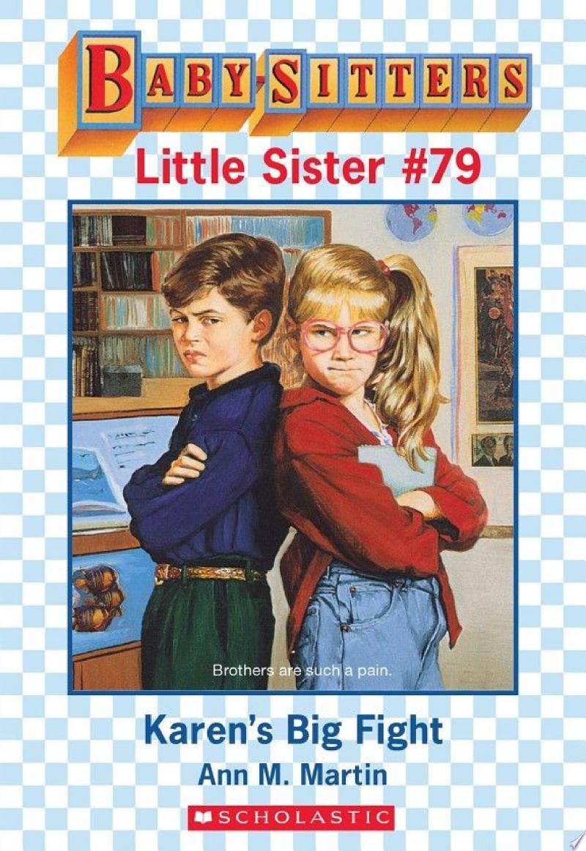 Karen's Big Fight (Baby-Sitters Little Sister #79) banner backdrop