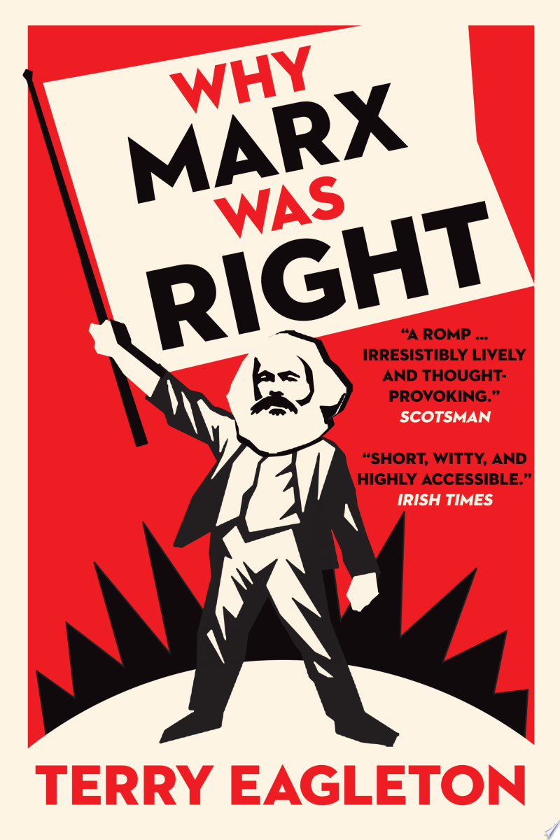 Why Marx Was Right banner backdrop