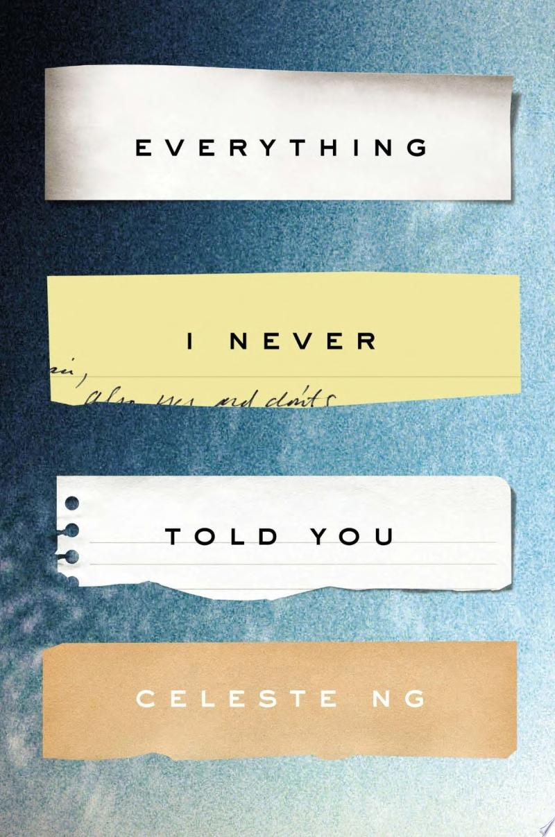 Everything I Never Told You banner backdrop