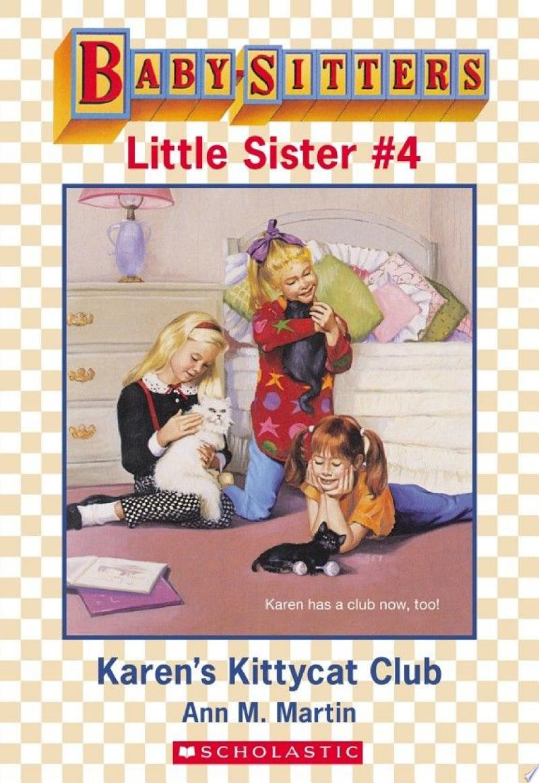 Karen's Kittycat Club (Baby-Sitters Little Sister #4) banner backdrop
