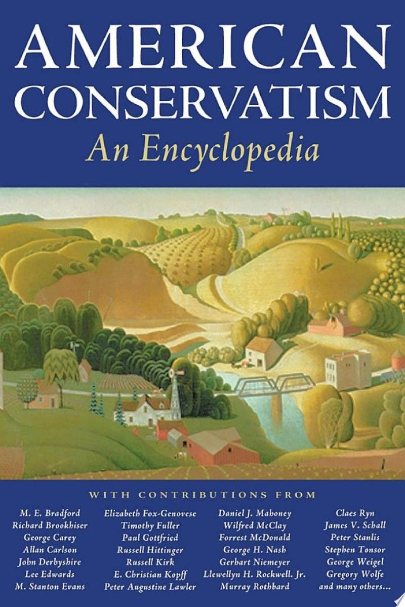 American Conservatism banner backdrop