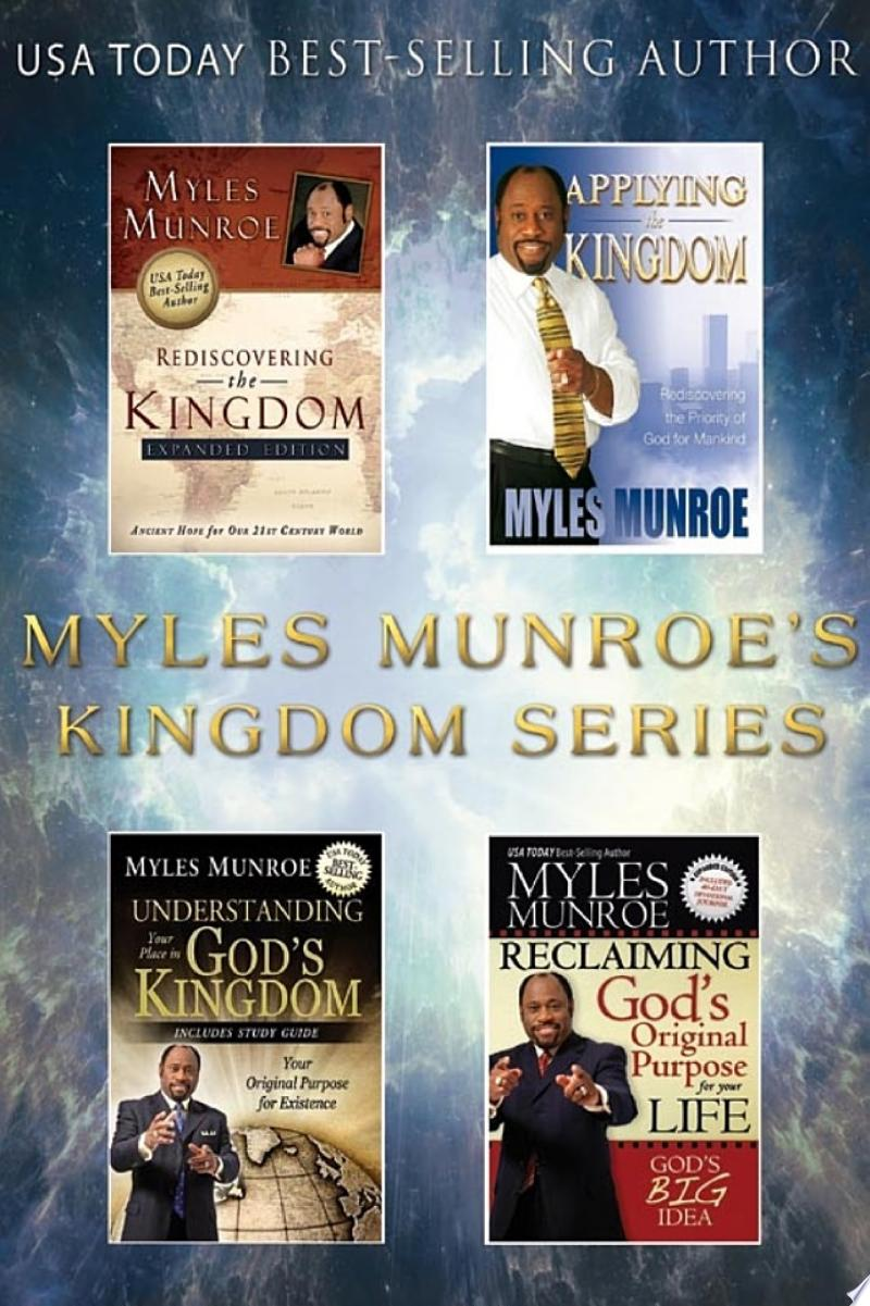 The Myles Munroe's Kingdom Series banner backdrop