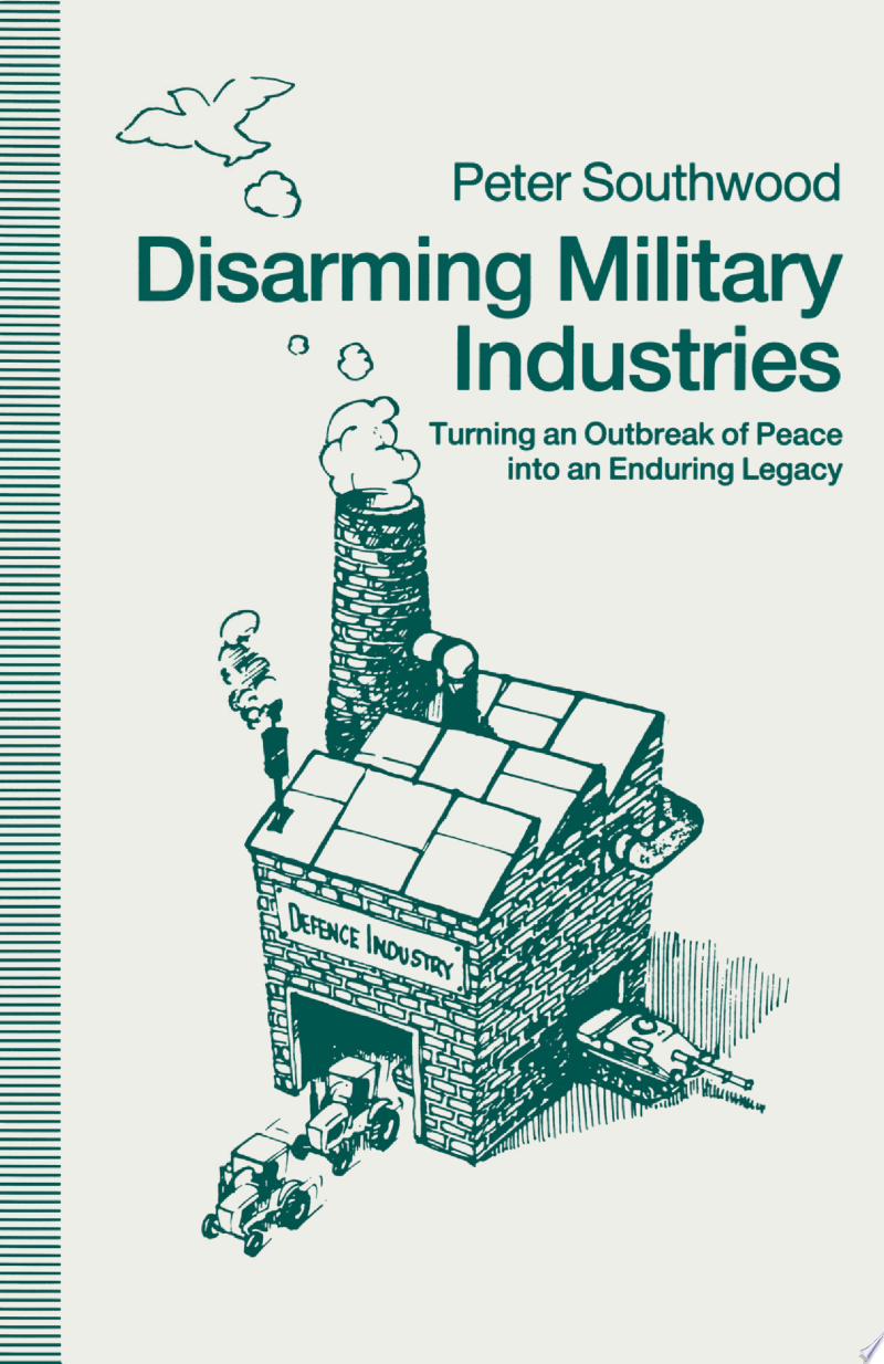Disarming Military Industries banner backdrop