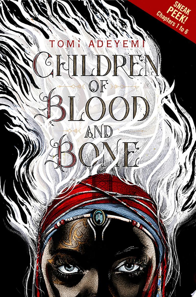 Children of Blood and Bone Sneak Peek banner backdrop