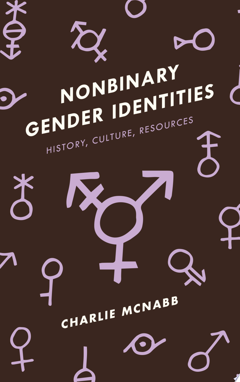 Nonbinary Gender Identities banner backdrop