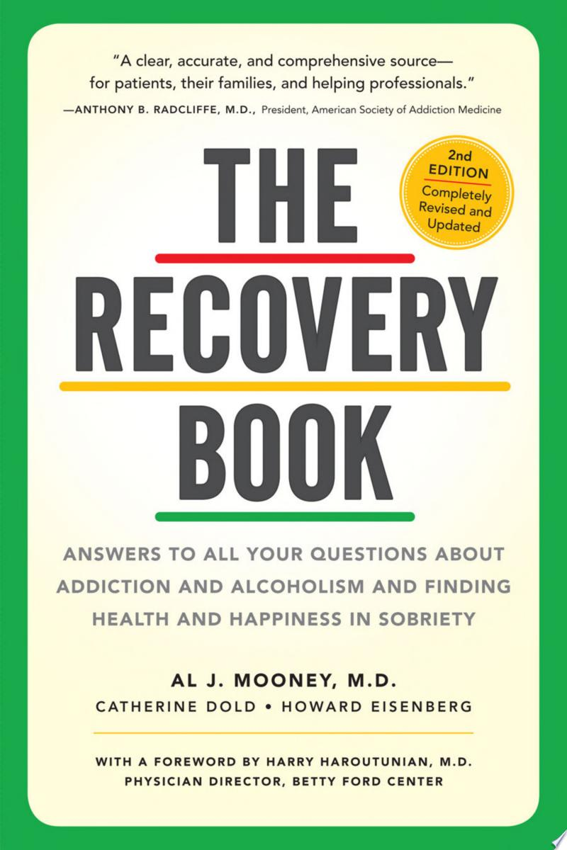 The Recovery Book banner backdrop