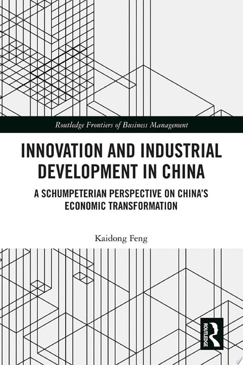 Innovation and Industrial Development in China banner backdrop