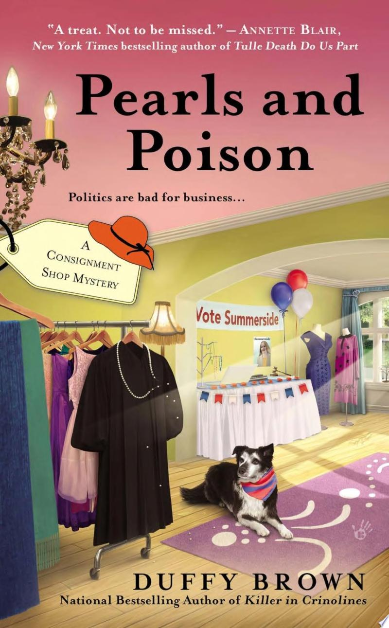 Pearls and Poison banner backdrop