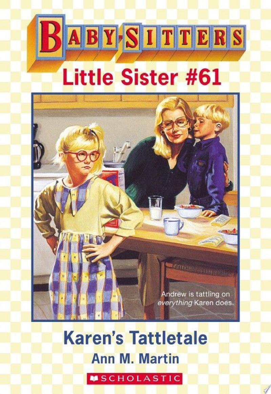 Karen's Tattletale (Baby-Sitters Little Sister #61) banner backdrop