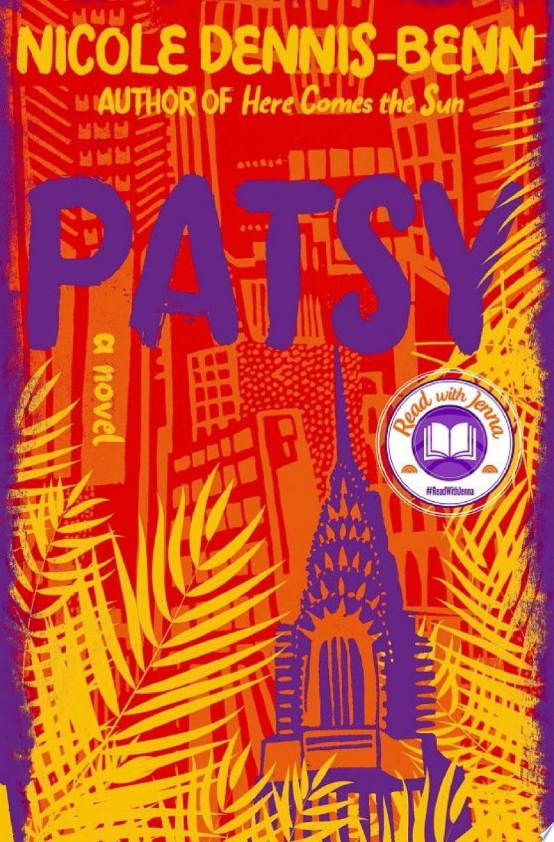 Patsy: A Novel banner backdrop