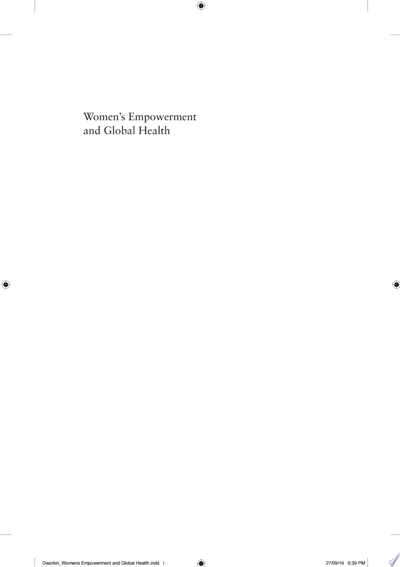 Women's Empowerment and Global Health banner backdrop