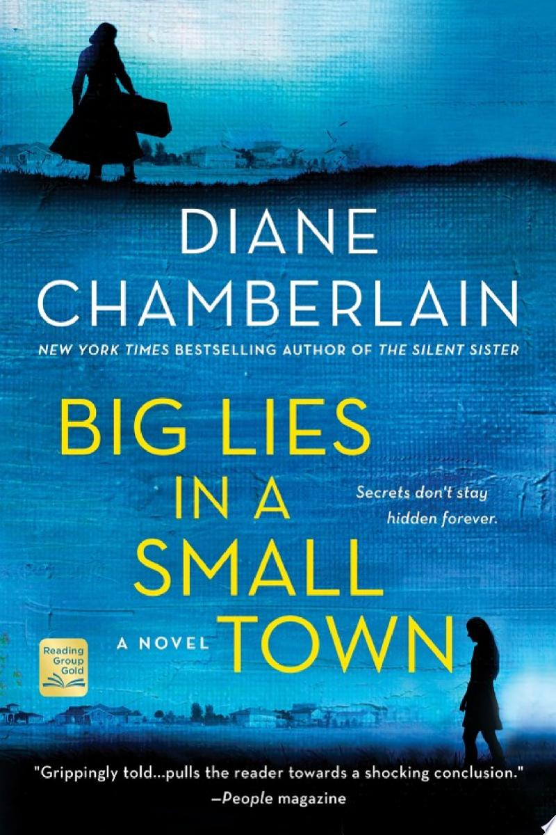 Big Lies in a Small Town banner backdrop