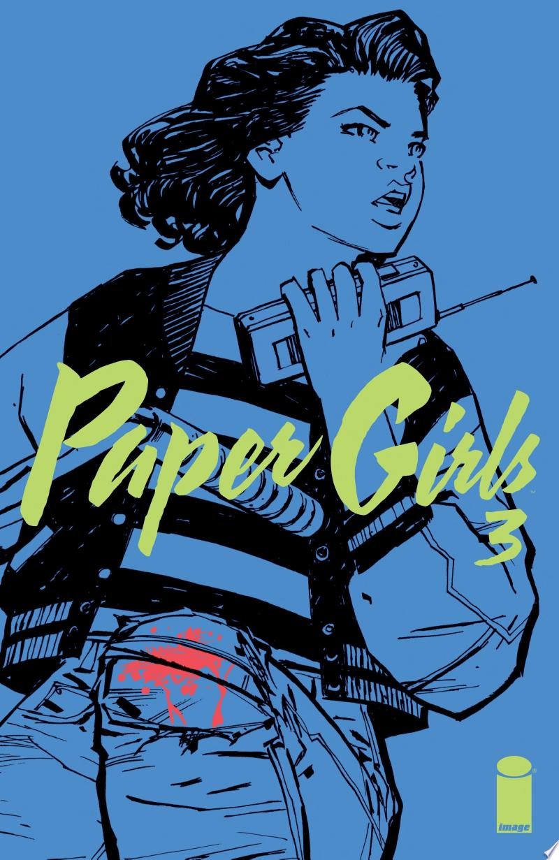Paper Girls #3 banner backdrop