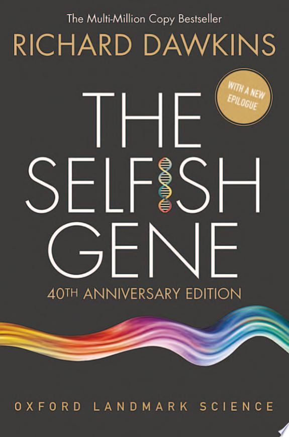 The Selfish Gene banner backdrop