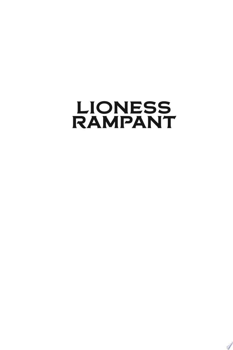 Lioness Rampant banner backdrop