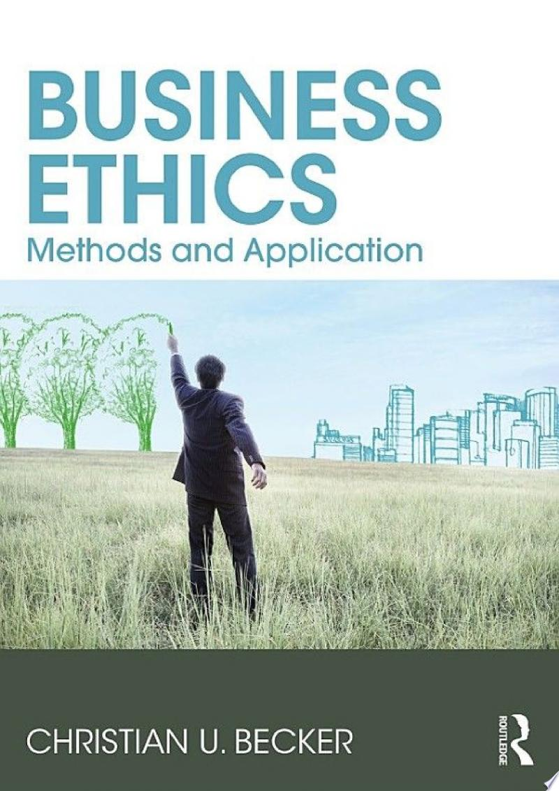 Business Ethics banner backdrop